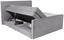 Boxspringbett Naomi 160x200cm Grey - Hellgrau/Schwarz, KONVENTIONELL, Holz/Holzwerkstoff (160/200cm)