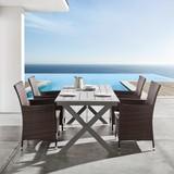 Záhradný Stôl Ellen - sivá, Moderný, drevo (180/90/76cm) - Mömax modern living