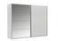 Skříň S Posuvnými Dveřmi Ernie - bílá, dřevo/kompozitní dřevo (225/210/59cm)