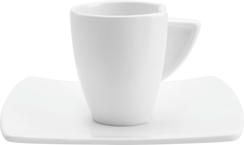 Šálek Na Espresso S Podšálkem Tacoma -top- - bílá, Lifestyle, keramika - PREMIUM LIVING