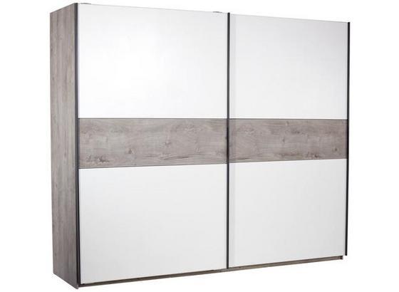 Skriňa S Posuvnými Dvermi Julia - farby dubu/biela, Konvenčný, kompozitné drevo (270/225cm)