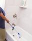 Reinigungsbürstenset Hurrican Spin Scrubber - Blau/Weiß, KONVENTIONELL, Kunststoff/Metall (110/7/10cm) - Mediashop