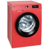 Gorenje Waschmaschine W8543tr - Rot, KONVENTIONELL, Kunststoff (60/85/60cm) - Gorenje