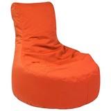 Outdoorsitzsack Slope B: 85 cm Orange - Orange, Basics, Kunststoff (85/90/85cm) - Ambia Garden
