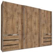Schwebetürenschrank mit Laden 300cm Level 36a, Eiche Dekor - Eichefarben, MODERN, Holzwerkstoff (300/216/65cm) - MID.YOU