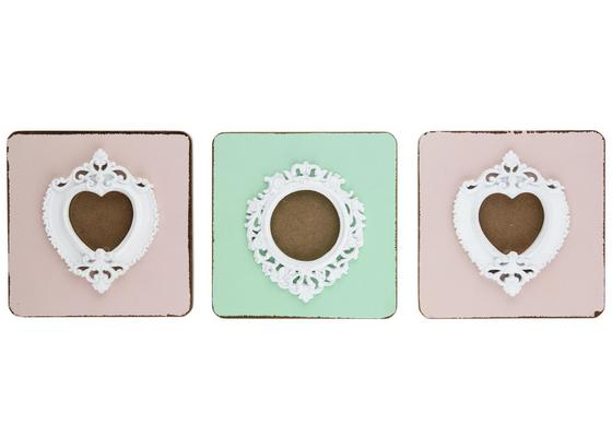 Rám Na Obrazy Jaco - bílá/růžová, Moderní, dřevo/umělá hmota (15/20,5/5cm) - Mömax modern living