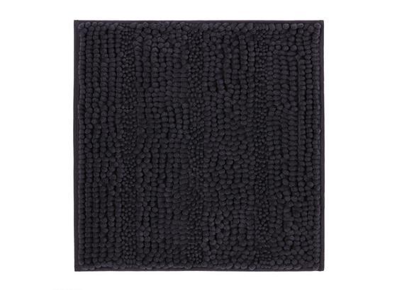 Předložka Koupelnová Uwe -top- - antracitová, textil (50/50cm) - Based
