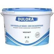 Universelle Wand- und Deckenfarbe 10 Liter Weiß - Weiß (10,000l) - Dulora