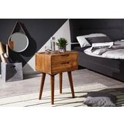 Nachtkästchen B: ca. 47 cm Sheeshamfarbe - Sheeshamfarben, Design, Holz (47/66/36cm) - MID.YOU