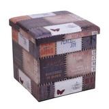 Skladací Box Setta 3 - Moderný, umelá hmota (37/37/37cm)