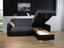 Sedacia Súprava Fulton - čierna/tmavosivá, Moderný (260/160cm)