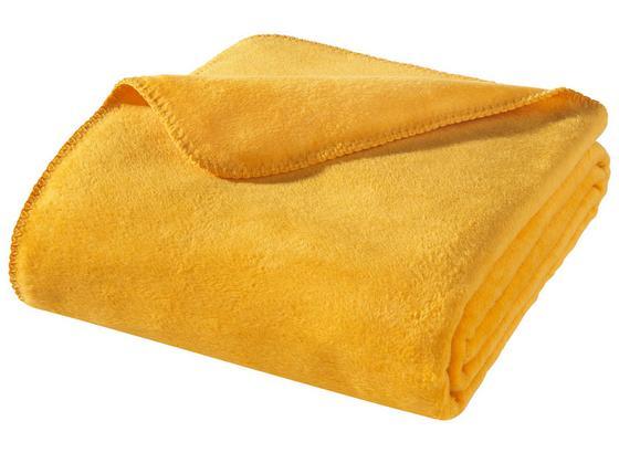 Wohndecke Hani 150x200 cm - Gelb, MODERN, Textil (150/200cm)