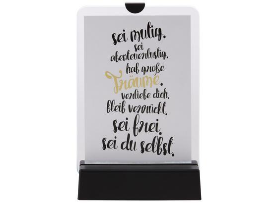 Rám Na Fotky Sunny - čierna, plast/sklo (12,1/18,9/4,5cm) - Mömax modern living