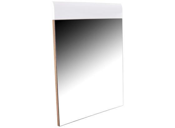 Zrkadlo Avensis - farby dubu/biela, Moderný, kompozitné drevo (85/87/2cm) - Luca Bessoni