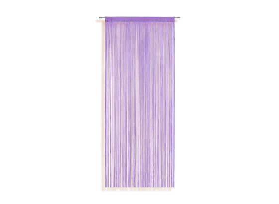 Zsinórfüggöny Marietta - Lila, konvencionális, Textil (90/245cm) - Ombra