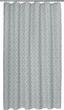Sprchový Závěs Spain In Türkis, Ca. 180x200cm - bílá/světle šedá, Lifestyle, textil (180/200cm) - Mömax modern living