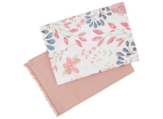 Sada Utierok Na Riad Josefine 2-teilig - ružová, textil (50/70cm) - Mömax modern living