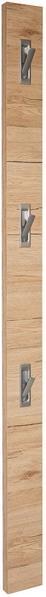 Garderobenleiste Enzo - Hellbraun/Erlefarben, MODERN, Holzwerkstoff (12/175/2,8cm)