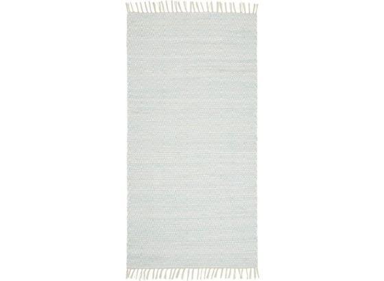 Ručné Tkaný Koberec Mary 2 - tyrkysová, Romantický / Vidiecky, textil (80/150cm) - Mömax modern living