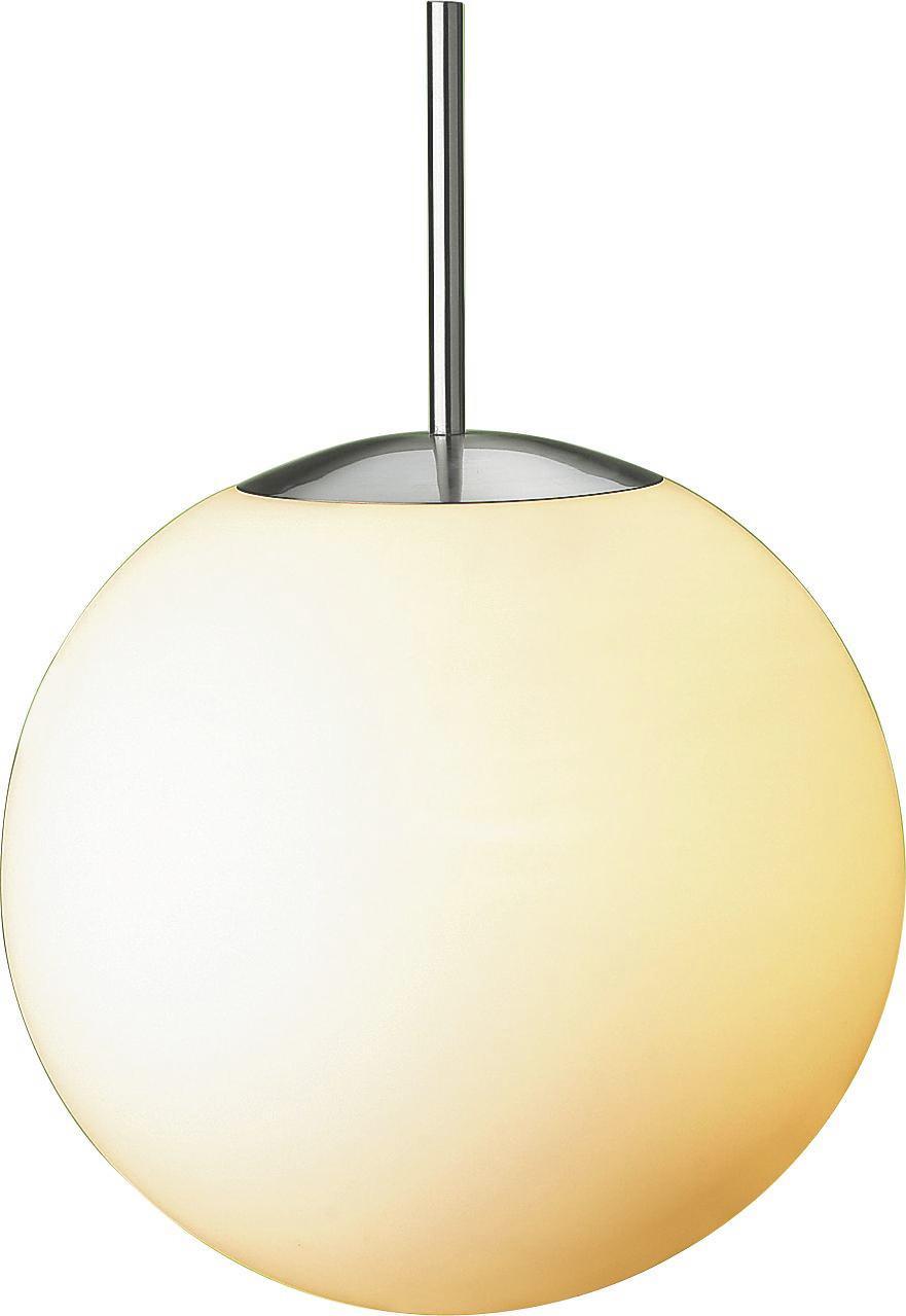 Függőlámpa Owen - opál, konvencionális, üveg/fém (30cm) - OMBRA