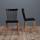 Stolička Celine - čierna/farby buku, Moderný, umelá hmota/drevo (43,5/82/51,5cm) - Modern Living
