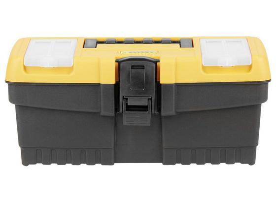 Werkzeugkoffer Finlay Schwarz - Gelb/Schwarz, KONVENTIONELL, Kunststoff (32/15,5/13,9cm) - Homezone