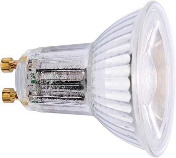 LED-Leuchtmittel 500 lm, Gu10, A+ - Klar, KONVENTIONELL (5,5cm)
