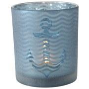 Windlicht Wavy - LIFESTYLE, Glas (7/8cm)
