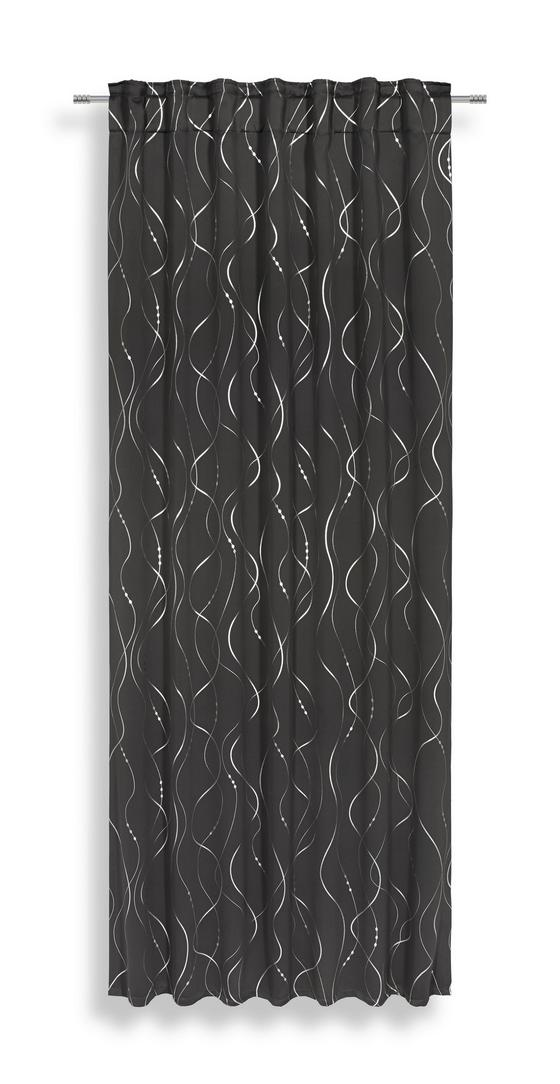 Fertigvorhang Sissi - Grau, MODERN, Textil (135/245cm) - Luca Bessoni