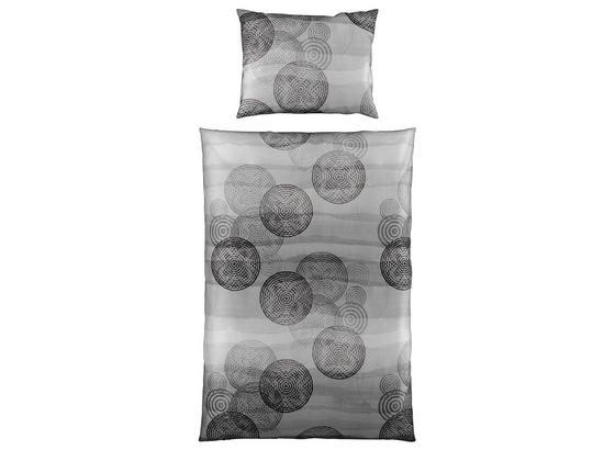 Bettwäsche Kayla - Grau, MODERN, Textil - Luca Bessoni