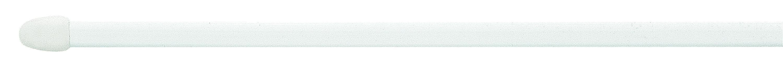 Vitrázsrúd Sbdl1152/350 - fehér, konvencionális, műanyag/fém (60cm) - MÖBELIX