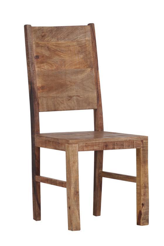Židle Industry - přírodní barvy, Basics, dřevo (45/100/52cm) - James Wood