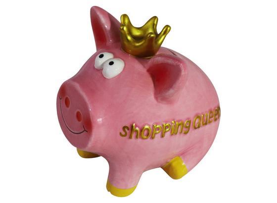 Spardose Mrs Piggy - Pink/Gelb, KONVENTIONELL, Keramik (12/10/13cm) - Ombra