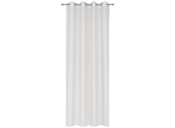 Závěs Hotový Iceland - bílá, textil (140/245cm) - Mömax modern living