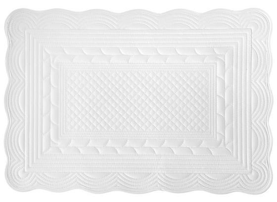 Prestieranie Linda - biela, Romantický / Vidiecky, textil (50/70cm) - Mömax modern living