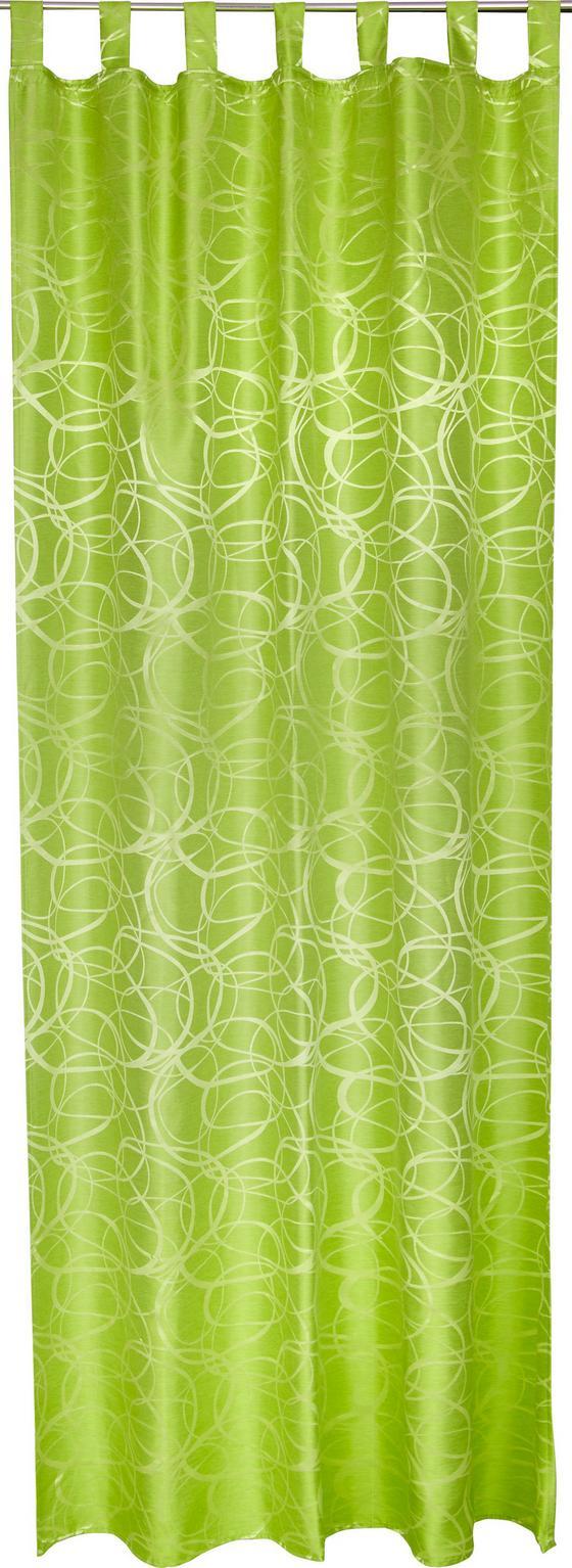 Kombi Készfüggöny Linda - zöld, konvencionális, textil (140/255cm)