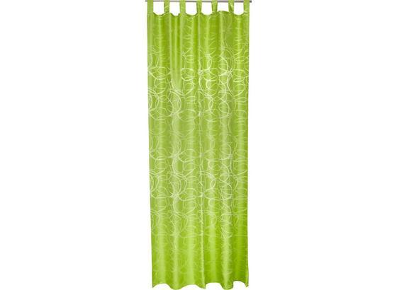 Kombivorhang Linda - Grün, KONVENTIONELL, Textil (140/255cm) - Ombra