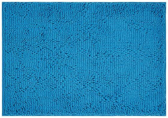Badematte Liliane - Türkis, KONVENTIONELL, Textil (60/90cm) - Ombra