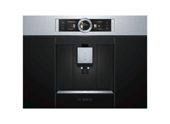 Espresso Kávovar Ctl636es1 - čierna, Moderný, kov/plast (59,4/45,5/37,5cm) - Bosch