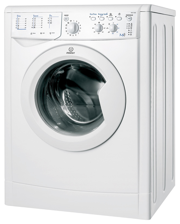 Indesit Waschtrockner Iwdc 71680 Eco (eu)   Weiß, KONVENTIONELL (59,5