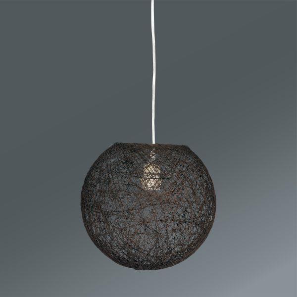 Závesná Lampa Sophia - hnedá, Štýlový, textil (50cm) - MÖMAX modern living