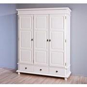 Drehtürenschrank Danz B: 166 cm Kiefer Weiß - Weiß, LIFESTYLE, Holz (166/199/57cm) - Carryhome