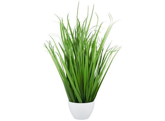 Svazek Trávy Iris - zelená, Romantický / Rustikální, umělá hmota (79cm)