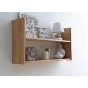 Wandregal Simone 90x45cm Massiv, Buche - Buchefarben, Basics, Holz (90/45/20cm) - Carryhome