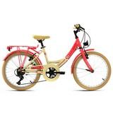 Kinderfahrrad Kinderrad 20'' Kahuna 647k - Beige/Rot, Basics, Metall