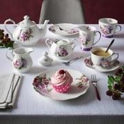 Kaffeeservice Rosabella 18tlg., für 6 Personen - Multicolor, ROMANTIK / LANDHAUS, Keramik - James Wood