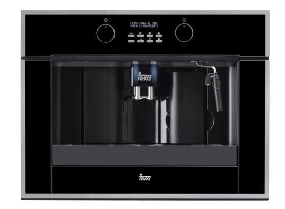 Kávovar Clc 855 Gm+ - čierna, Moderný, kov/sklo (45,5/39,1/59,5cm) - Teka