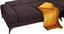 Sedacia Súprava Manila - hnedá, Štýlový, textil (315/212cm) - Luca Bessoni