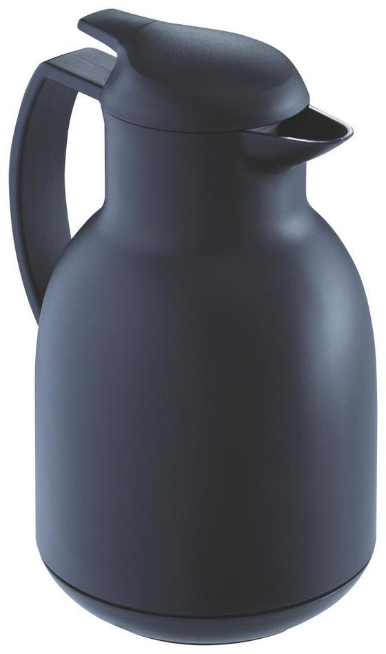 Isolierkanne Leifheit - Schwarz, KONVENTIONELL, Glas/Kunststoff (30/19/50cm) - Leifheit