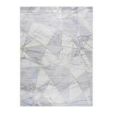 Webteppich Grau/Hellblau Ludmilla 120x170 cm - Hellblau, ROMANTIK / LANDHAUS, Textil (120/170cm) - James Wood